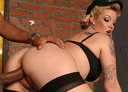 6 2 3 Candy Monroe is back in yet an other hot sizzling gallery where she takes a big black dick deep in her cunt!